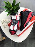 """Кросівки чоловічі Nike Air Jordan 13 """"Black/Red"""", фото 6"""
