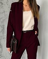 Женский стильный классический костюм