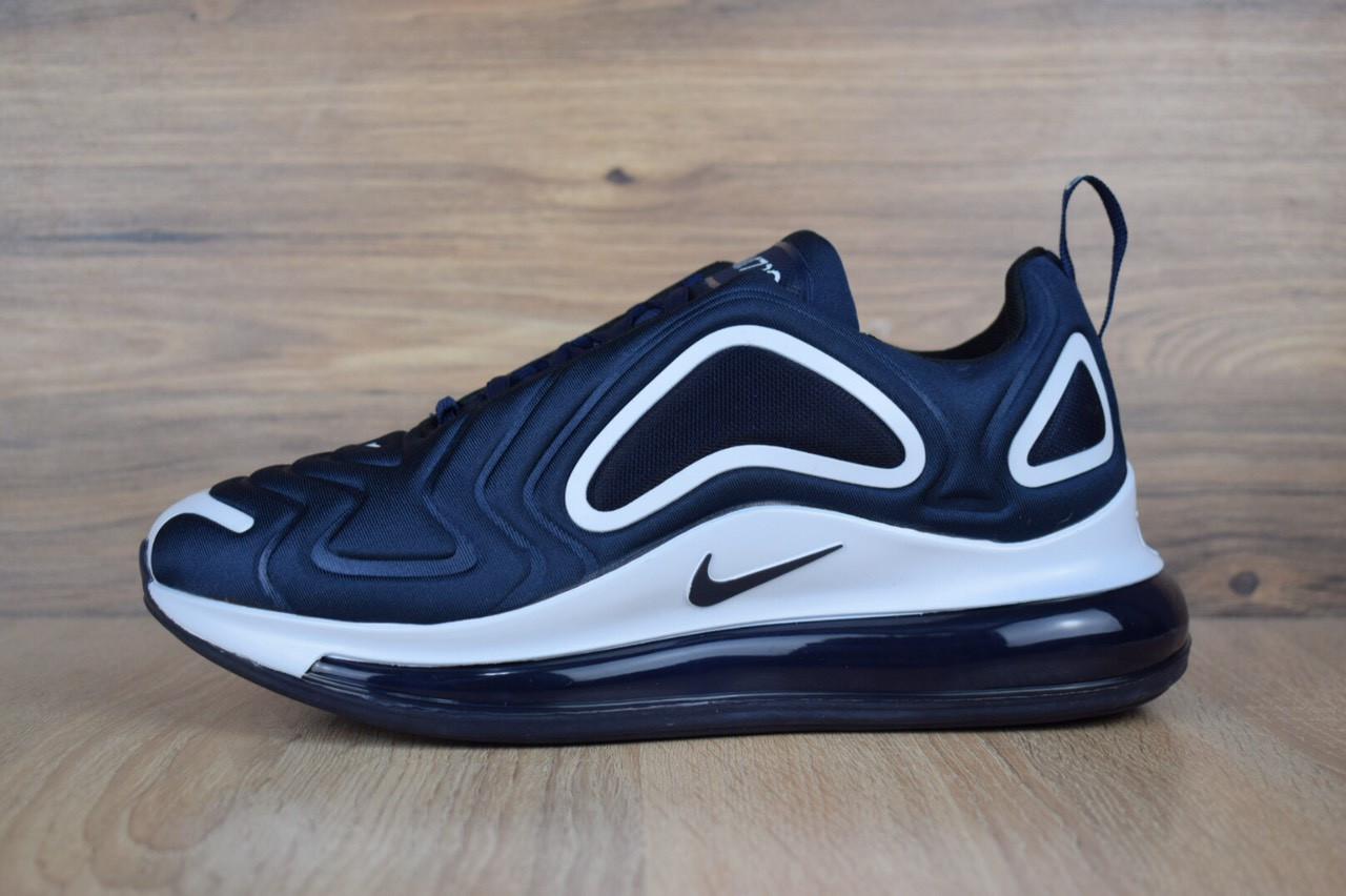 Кроссовки мужские Nike Air Max 720 синие с белым