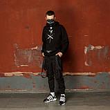 Мужские штаны Карго с лямками, фото 2