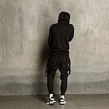 Мужские штаны Карго с лямками, фото 4