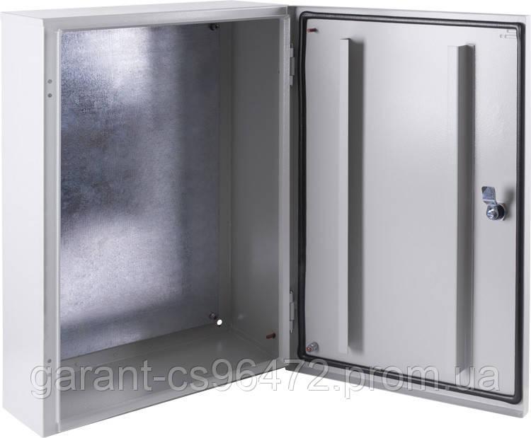 Корпус металевий e.mbox.pro.p.50.40.20 z IP54 з монтажною панеллю (500х400х200)