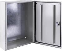 Корпус металевий e.mbox.pro.p.50.40.20 z IP54 з монтажною панеллю (500х400х200), фото 1