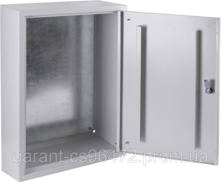 Корпус металевий e.mbox.pro.p.60.40.20 z IP31 з монтажною панеллю (600х400х200)