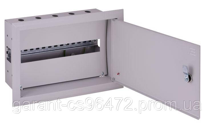Корпус металевий e.mbox.pro.w.18z IP31 вбудовуваний на 18 модулів з замком
