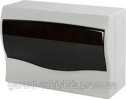 Корпус пластиковий 12-модульний e.plbox.stand.n.12m, навісна з дверима