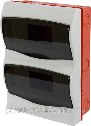 Корпус пластиковый 16-модульный e.plbox.stand.w.16m, встраиваемый