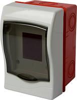 Корпус пластиковий 2-модульний e.plbox.stand.w.02m, що вбудовується