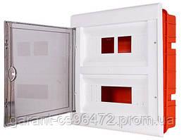 Корпус пластиковий 24-модульний e.plbox.stand.w.24, вбудовуваний