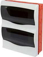 Корпус пластиковий 24-модульний e.plbox.stand.w.24m, що вбудовується