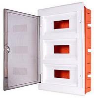 Корпус пластиковий 36-модульний e.plbox.stand.w.36, вбудовуваний