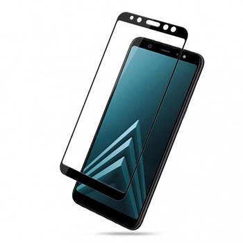 Защитное цветное стекло Mocolo (full glue) на весь экран для Samsung Galaxy A6 Plus (2018)