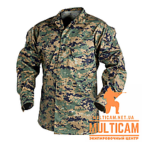 Кітель Helikon-Tex® USMC Shirt - PolyCotton Twill - USMC Digital Woodland, фото 1