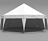 Шатер Пирамида на 50 человек - белый АРЕНДА