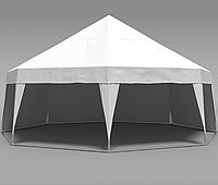 Шатер Пирамида на 50 человек - белый АРЕНДА, фото 1