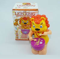 Музична іграшка Лев, світло, звук, 3269-8