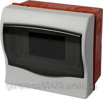 Корпус пластиковий 6-модульний e.plbox.stand.w.06, вбудовуваний