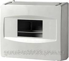 Корпус пластиковий 8-модульний e.plbox.stand.08, без дверей
