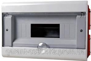 Корпус пластиковий 8-модульний e.plbox.stand.w.08, вбудовуваний