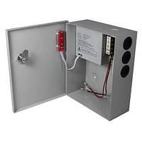 Импульсный источник бесперебойного питания PSU-3107 12V 3А, под АКБ 12V 7-9A, Metal Box