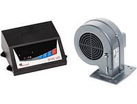 Комплект для твердотопливного котла автоматика и турбина (вентилятор) KG Elektronik SP05 - DP02