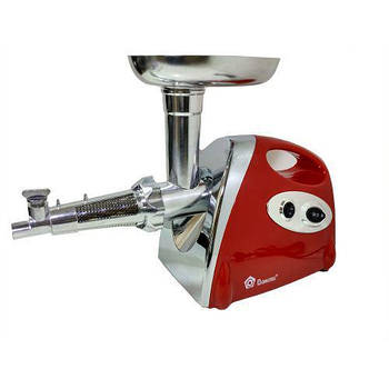Мясорубка соковыжималка электрическая Domotec MS2019 2400W Red