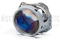 """Биксеноновые линзы Hella 3R F1 Blue 3.0"""" дюйма (⌀76мм) D1/2/3/4S, зеркальное покрытие"""