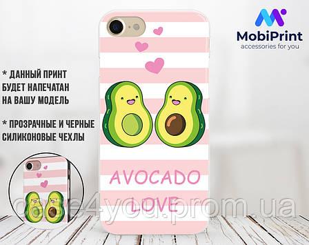 Силиконовый чехол для Apple Iphone 6 plus_6s plus Авокадо (Avo-love) (4005-3443), фото 2