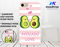 Силиконовый чехол для Apple Iphone 6_6s Авокадо (Avo-love) (4004-3443)