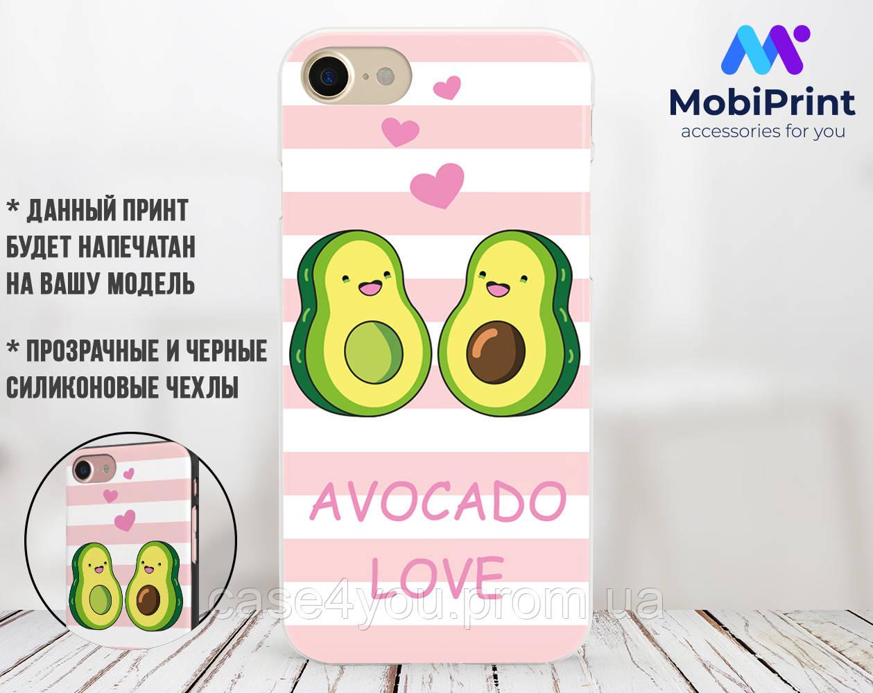 Силиконовый чехол для Apple Iphone Se Авокадо (Avo-love) (4006-3443)
