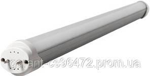 Лампа світлодіодна лінійна e.save.LED.T8A60.G13.9.5400, цоколь G13, довжина 60см, 5400 (ал+ПММА)
