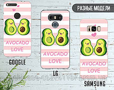 Силиконовый чехол для Huawei P smart Авокадо (Avo-love) (17146-3443), фото 3