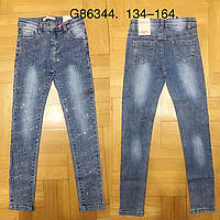 Джинсовые брюки для девочек Grace, 134-164 pp. Артикул: G86344, фото 1