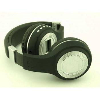 Наушники беспроводные bluetooth microSD FM MP3 MHZ 471 Black