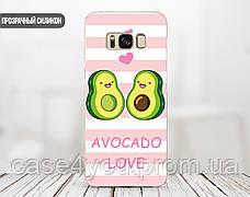 Силиконовый чехол для Samsung G955 Galaxy S8 Plus Авокадо (Avo-love) (28210-3443), фото 2