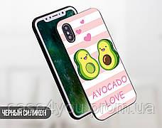 Силиконовый чехол для Samsung J610 Galaxy J6 Plus Авокадо (Avo-love) (28228-3443), фото 3