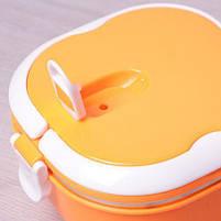 Термос для еды пищевой термос 700 мл Empire 1518 Orange, фото 2