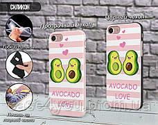 Силиконовый чехол для Xiaomi Redmi Note 6 Авокадо (Avo-love) (13032-3443), фото 2