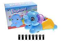 """Iграшка """"Слоненя"""", з музичним і світловим ефектом, 6623A"""