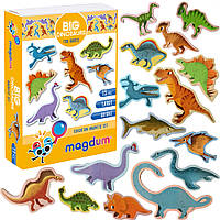 """Набір магнітів Magdum """"Великі динозаври"""", ML4031-06EN"""
