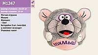 М'яка іграшка, музична мишка, скаче, M1247