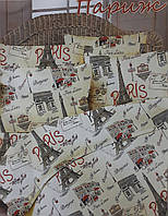 Комплект постельного белья Тиротекс Бязь Париж Двуспальный 175х215