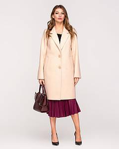 Весеннее женское классическое пальто с английским воротником