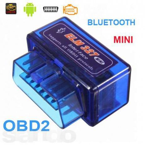 Адаптер диагностический сканер ELM327 MINI OBD II Bluetooth
