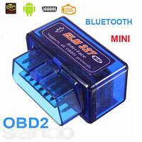 Адаптер диагностический сканер ELM327 MINI OBD II Bluetooth, фото 1