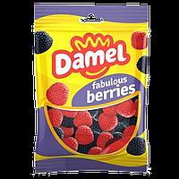 Желейные конфеты БЕЗ ГЛЮТЕНА Damel  Berries (малинки) Испания 100г, фото 1