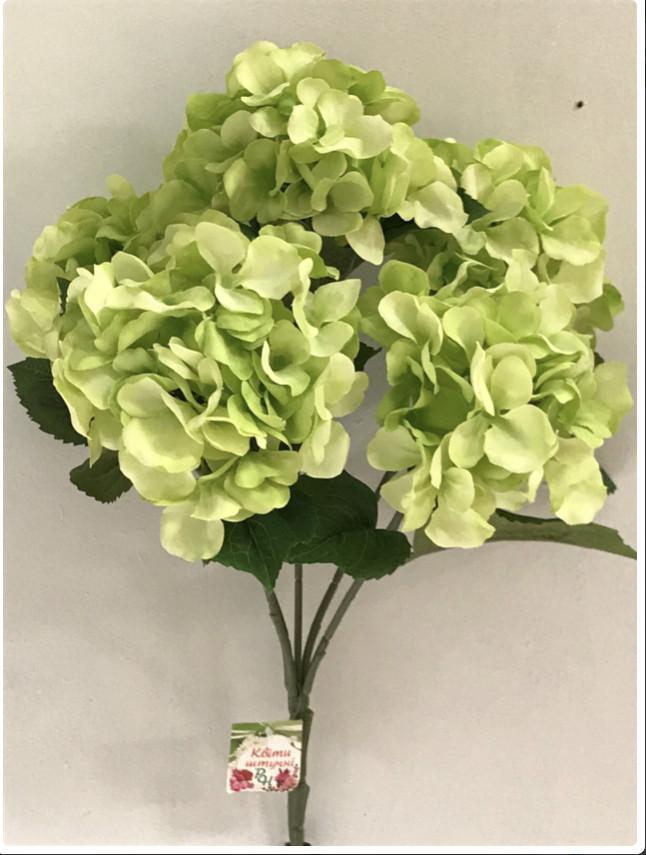 Букет искусственных цветов бутоны гортензии (цена за 1 шт +20 грн)