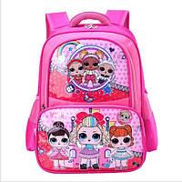 """Школьный рюкзак для девочки """"Кукла LOL"""" 1-4 класс"""