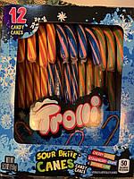 Фруктовые конфеты трости Candy Canes Trolli, фото 1