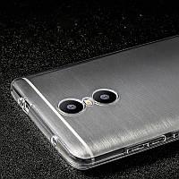 Силиконовый чехол Redmi Note 4\Note 4X прозрачный